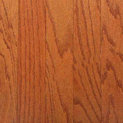 Oak Gunstock 3/8 in. Thick x 3 in. Wide x Varying Length Engineered Hardwood Flooring (30 sq. ft. / case)
