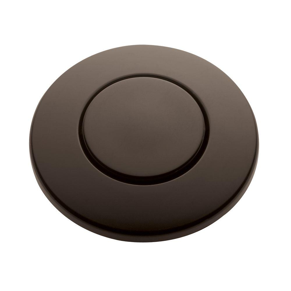 InSinkErator SinkTop Switch Push Button in Oil Rubbed Bronze for InSinkErator Garbage Disposals