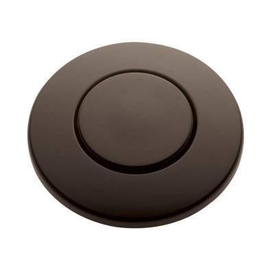 SinkTop Switch Push Button in Oil Rubbed Bronze for InSinkErator Garbage Disposals