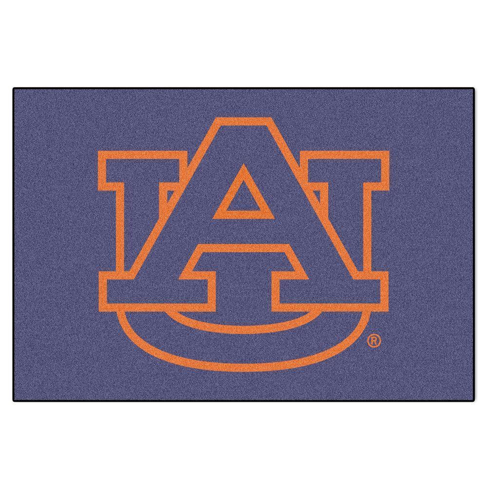 Auburn University 1 ft. 7 in. x 2 ft. 6 in. Accent Rug
