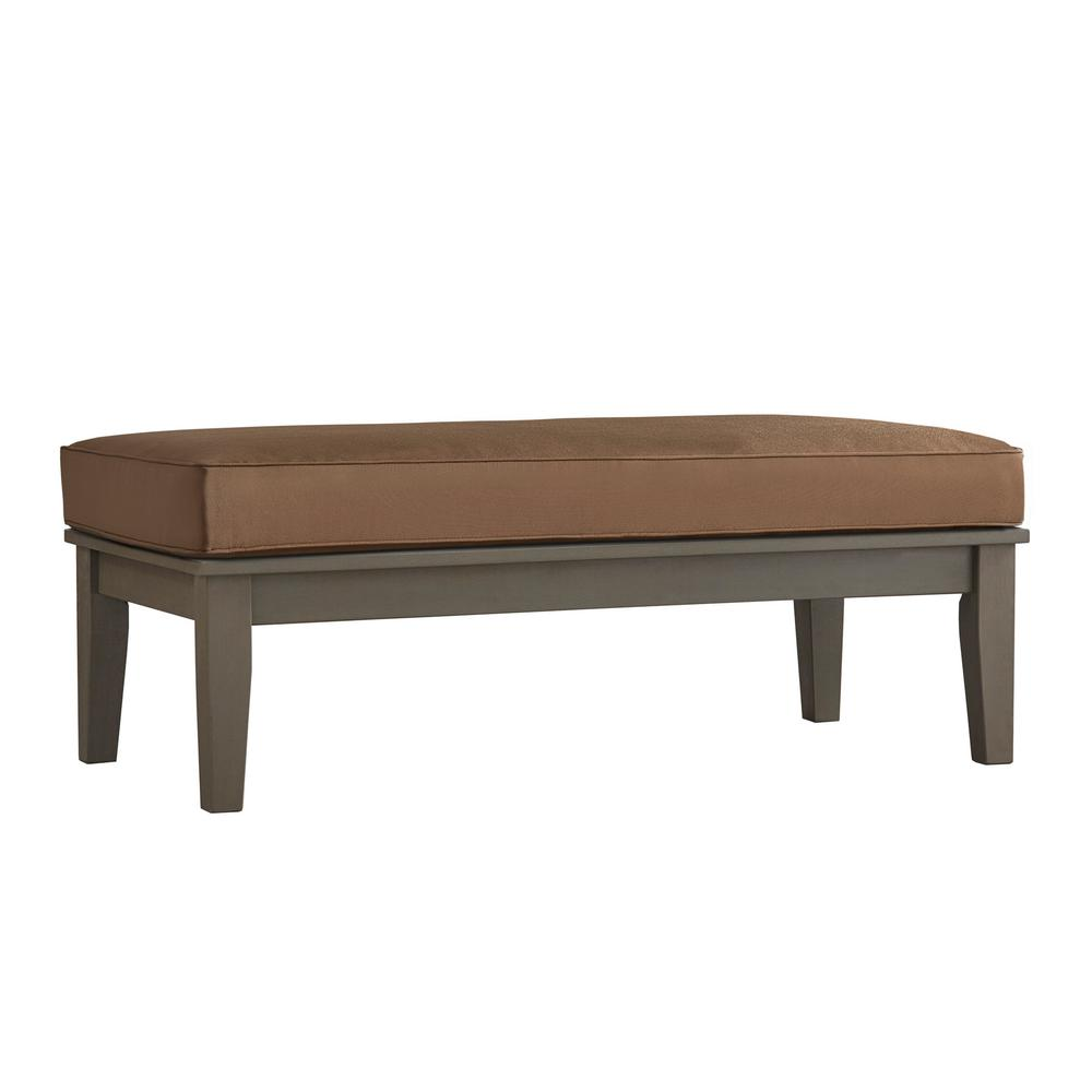Outdoor Coffee Table: Hampton Bay Belleville Tile Top Patio Coffee Table