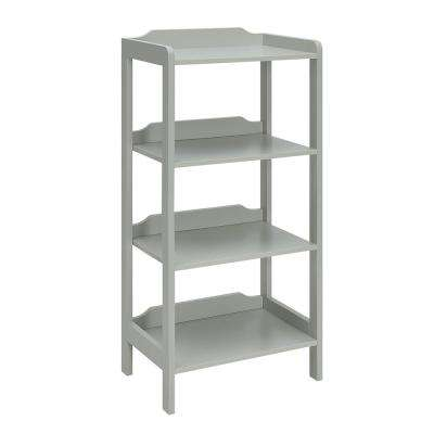 Sadie London Grey Small Office Bookcase