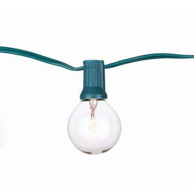 Party Light 25 ft. 24-Light String Light with Clear Bulb