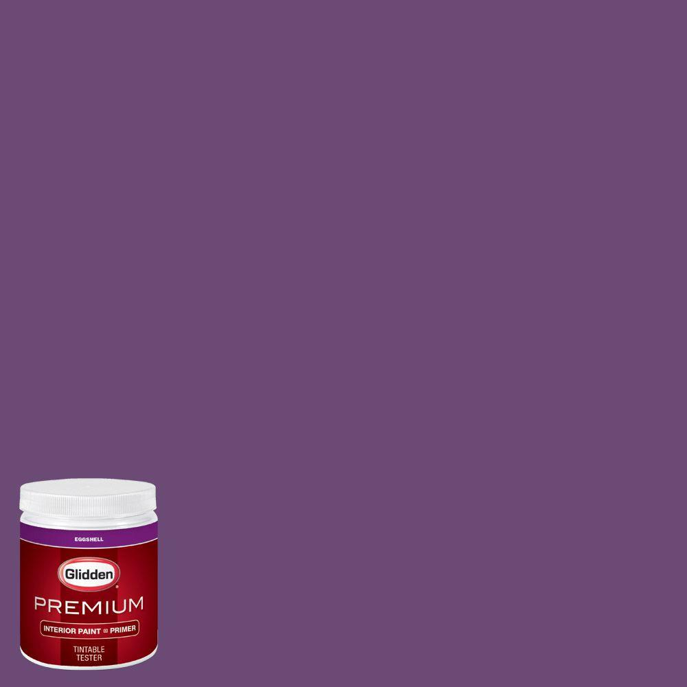Glidden premium 8 oz hdgv53 regal purple eggshell - Glidden premium exterior paint review ...