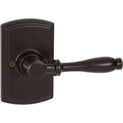 Italian Collection Sorado Black Dummy Door Lever
