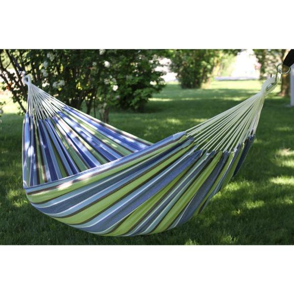 Vivere 12 Ft Brazilian Cotton Double Hammock In Oasis Braz224 The Home Depot