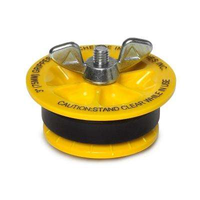 Gripper 3 in. ABS Mechanical Plug