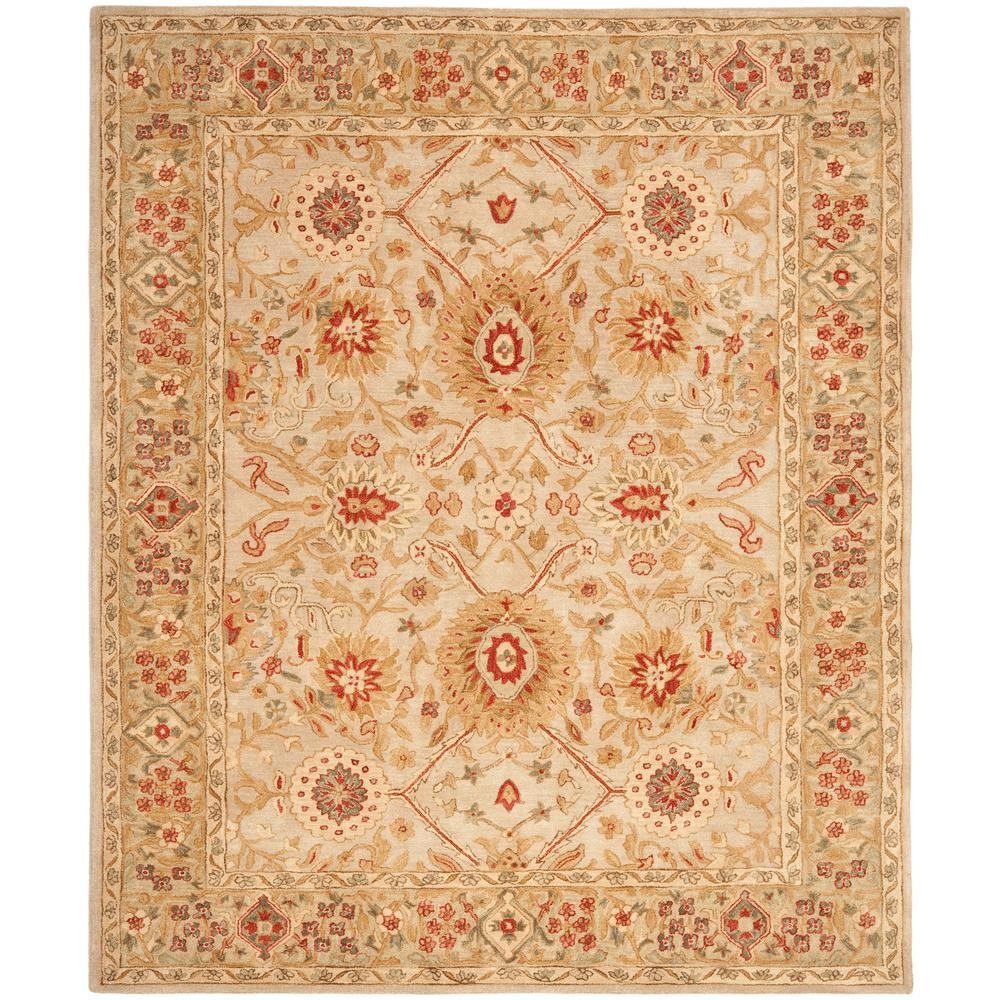 Anatolia Gray Beige/Sage 9 ft. 6 in. x 13 ft. 6