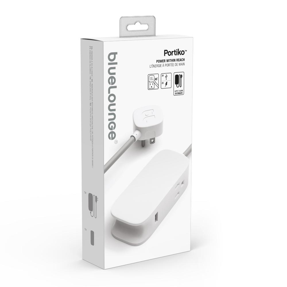 Portiko Extension Cord, White