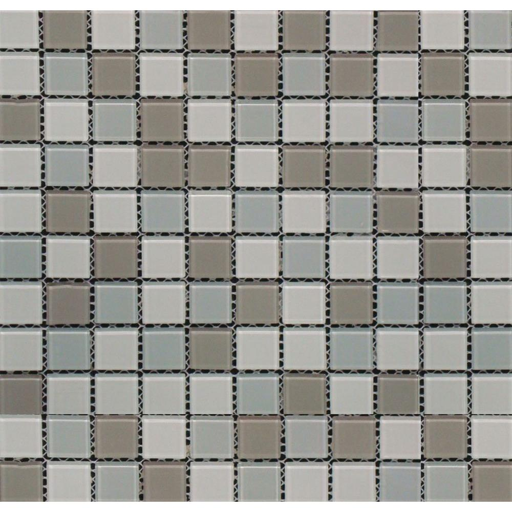 Home Depot Iridescent Glass Mosaic Tile - Tile Designs