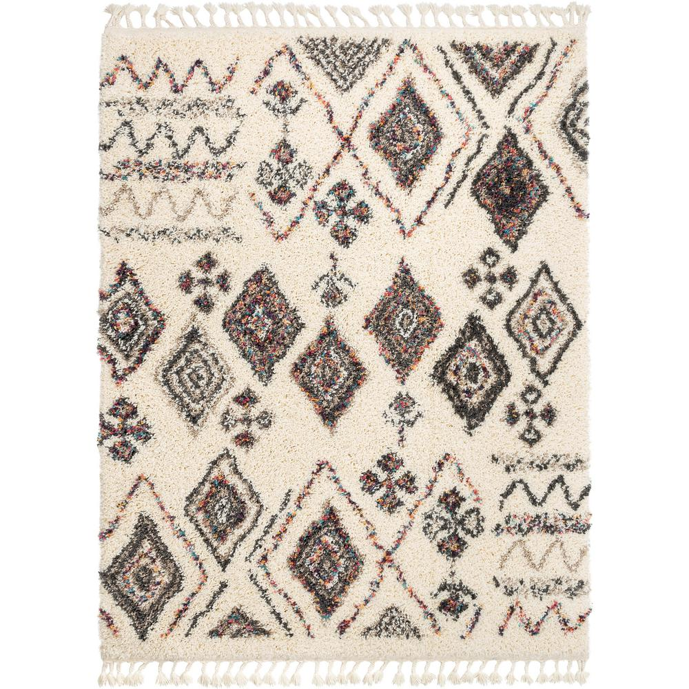 Well Woven Asilah Pagette Shag Tribal