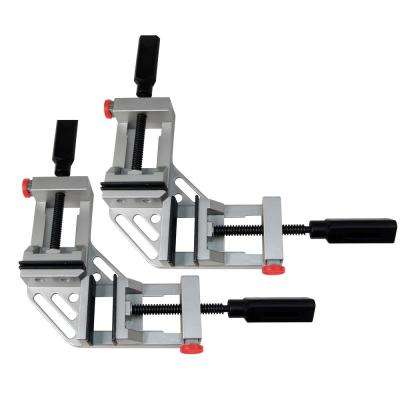 Quick-Release 90-Degree Angle and Corner Clamp (2-Pack)