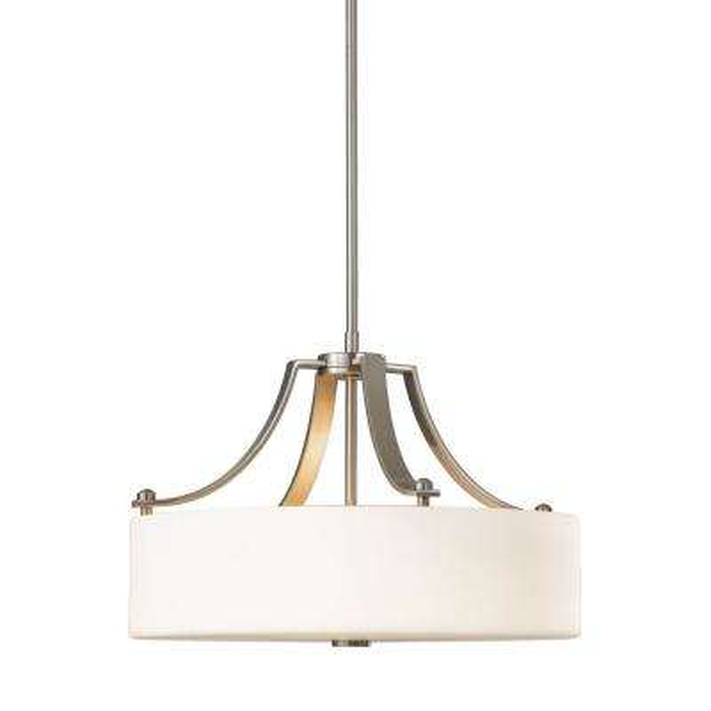 c56615b4644 Drum - Stainless Steel - Pendant Lights - Lighting - The Home Depot