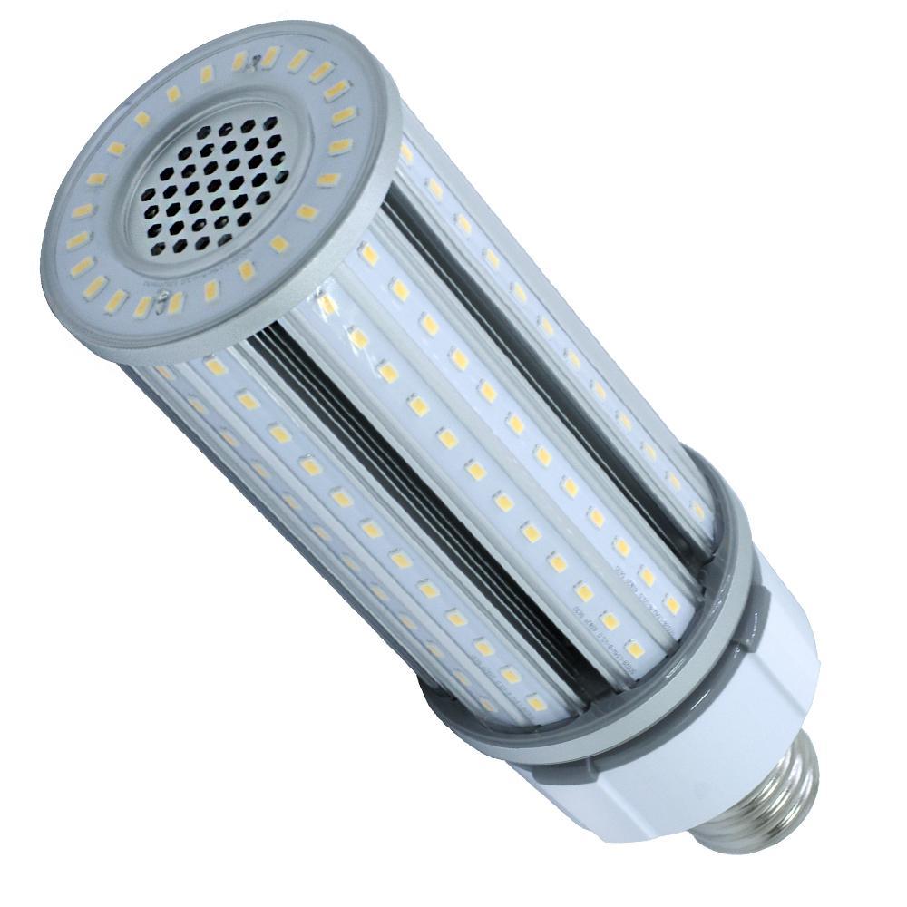 250-Watt Equivalent 54-Watt Corn Cob ED28 HID LED High Bay Bypass Light  Bulb Mog 120-277V Cool White 4000K 84014
