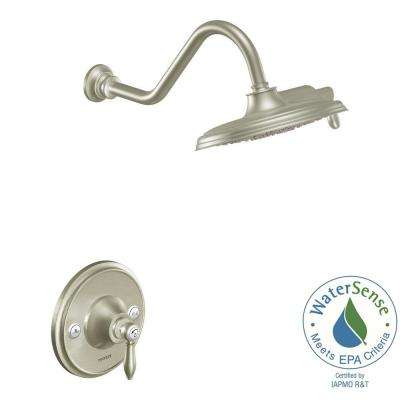 Weymouth Posi-Temp Eco-Performance Shower Trim Kit in Brushed Nickel (Valve Not Included)