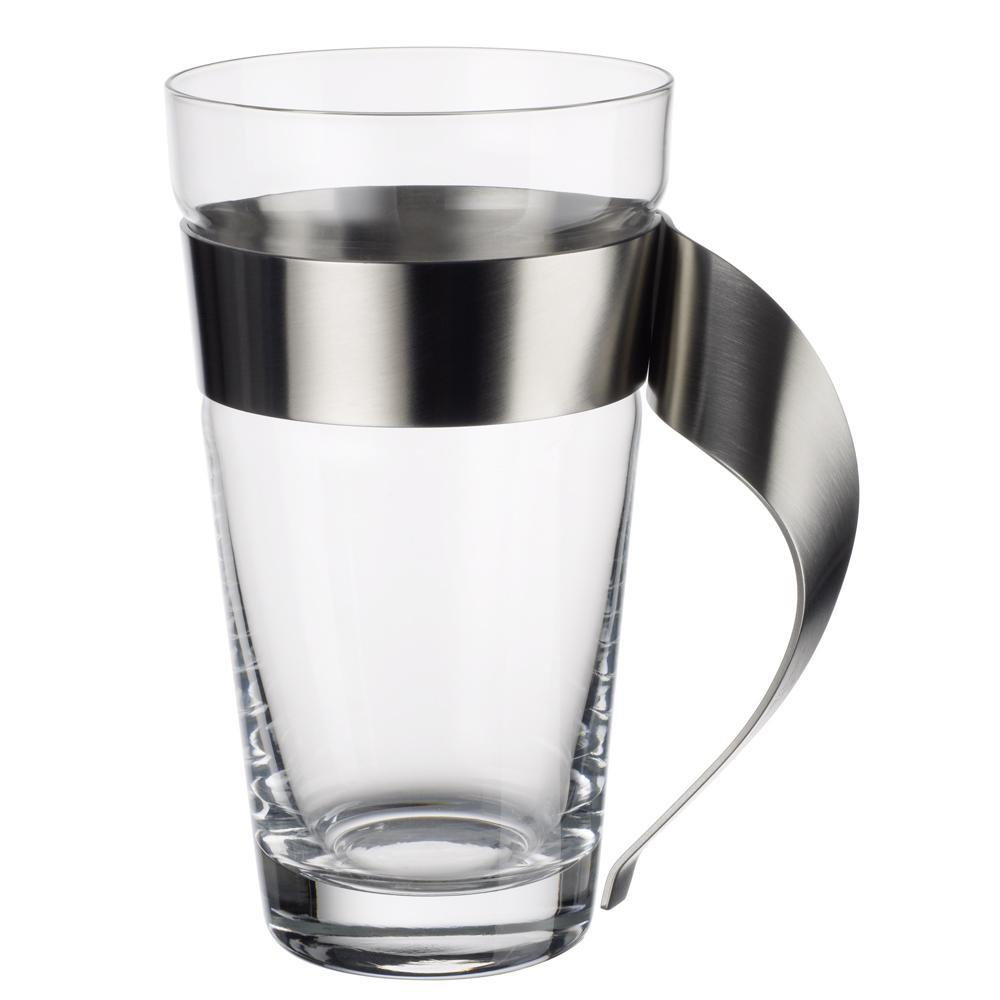 Villeroy U0026 Boch New Wave 16 Oz. Glass And Stainless Steel Macchiato Mug