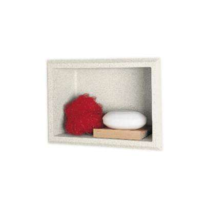 4-1/8 in. x 7-1/2 in. x 10-3/4 in. Recessed Accessory Shelf in Glacier