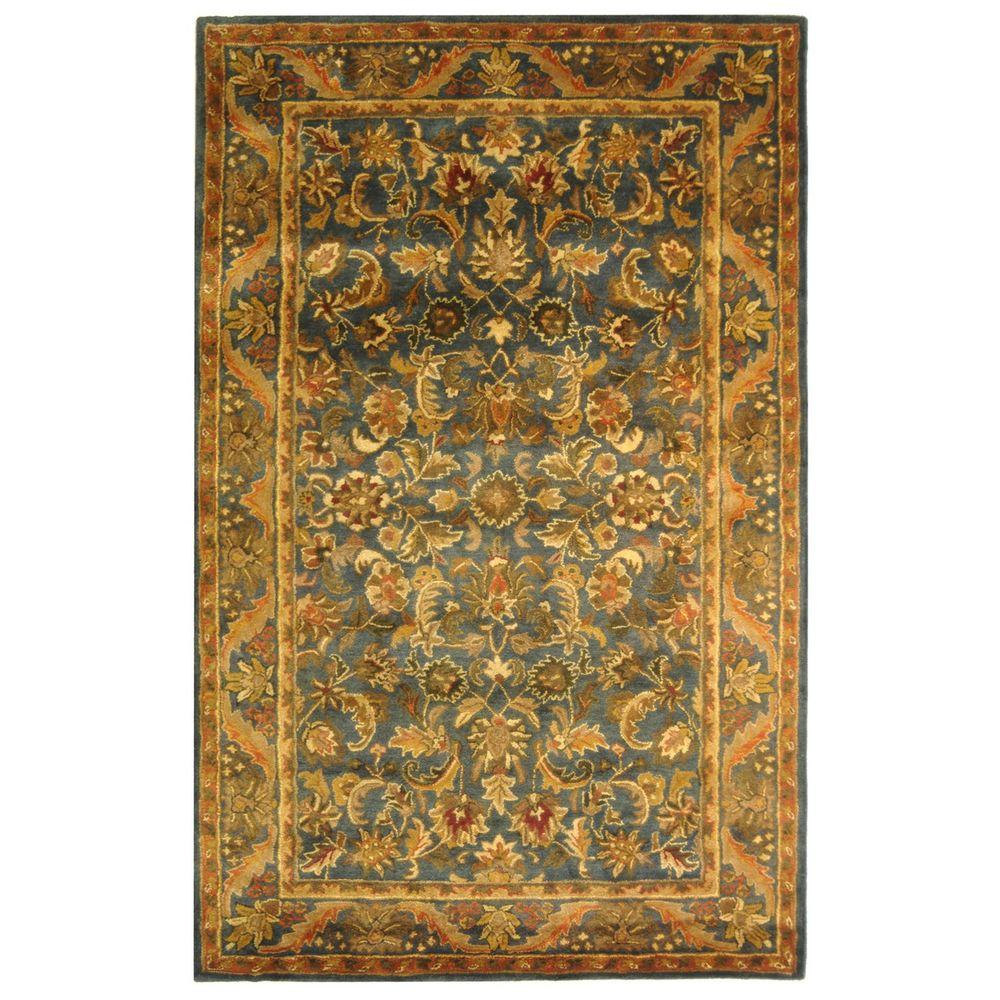 Safavieh Antiquity Blue/Gold 4 ft. x 6 ft. Area Rug