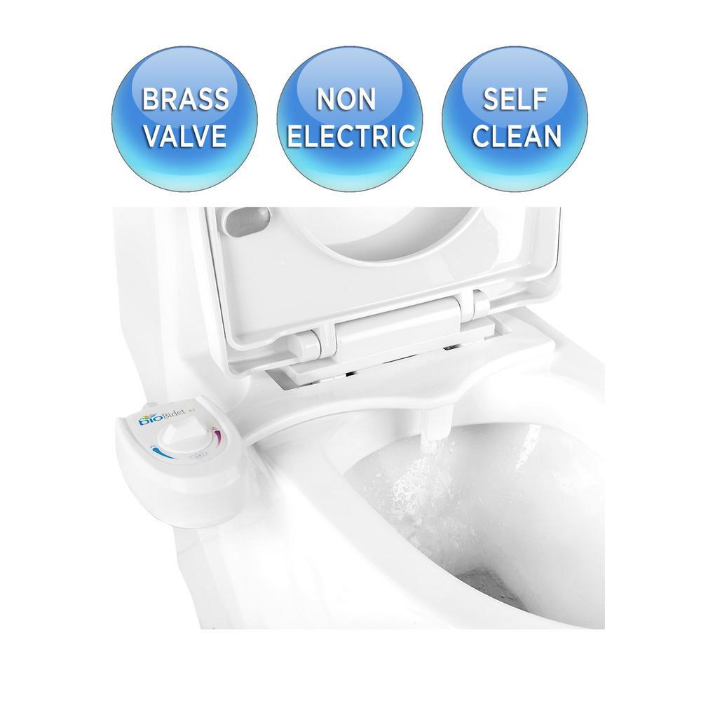 Brondell Freshspa Easy Bidet Toilet Seat Attachment In White Fs 10