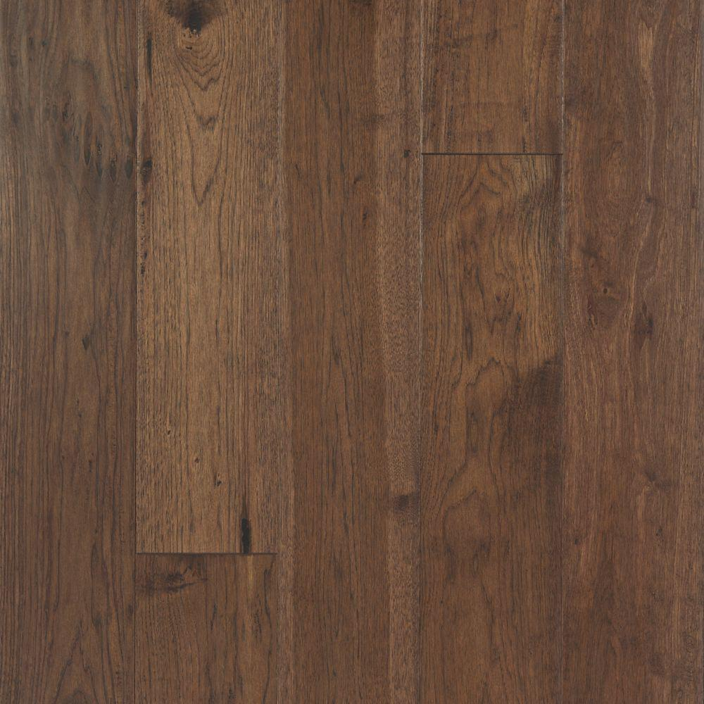 Mohawk Take Home Sample - Big Sky Collection Stampede Hickory Engineered Hardwood Flooring - 5 in. x 7 in.
