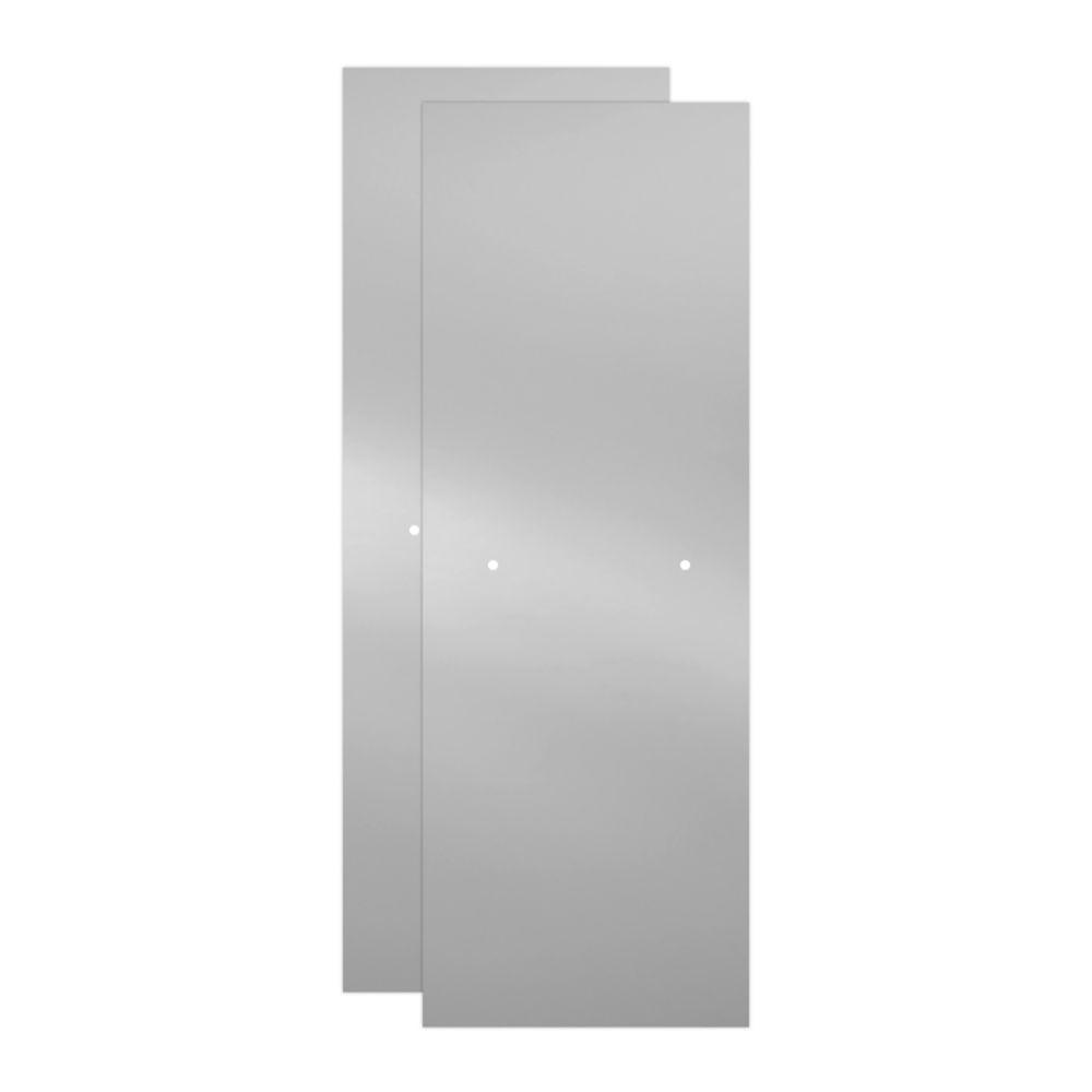 Delta 60 In Sliding Bathtub Door Glass Panels In Clear 1