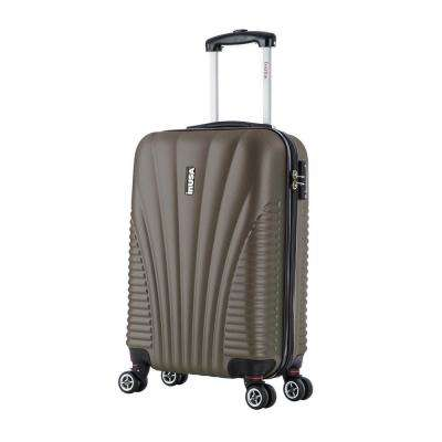 Chicago lightweight hardside spinner 21 in. carry-on-Brown