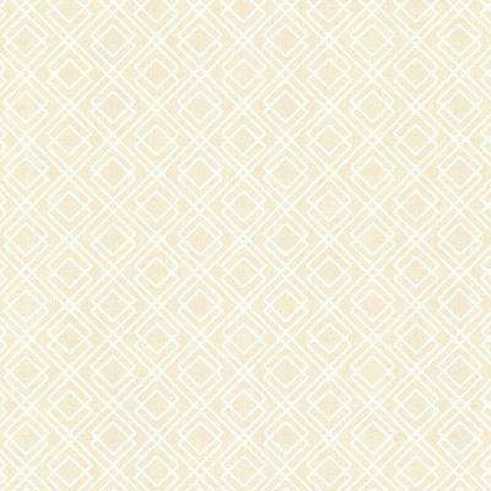 Milly Beige Lattice Wallpaper Sample