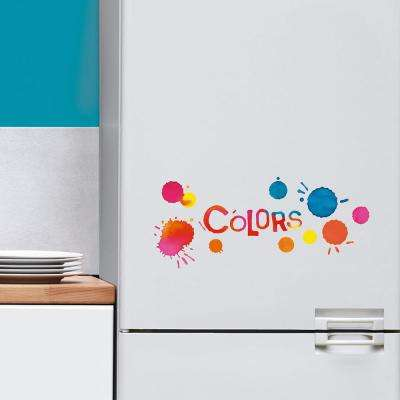 Multi-Color Colors Wall Decal