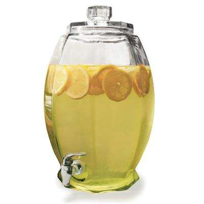 Cranston 3 Gal. Clear Glass Beverage Drink Dispenser