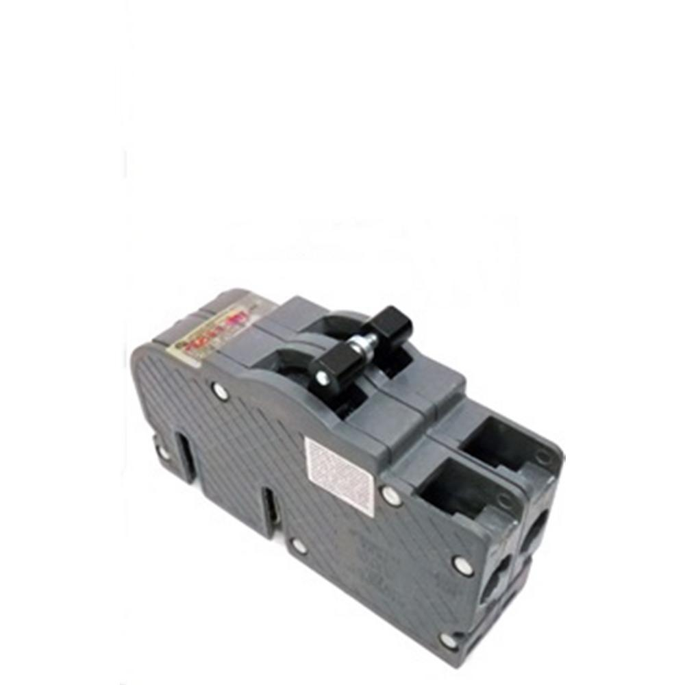 60 Circuit Breakers Power Distribution The Home Depot Shop Ge Qline Thql 20amp 1pole Ground Fault Breaker At