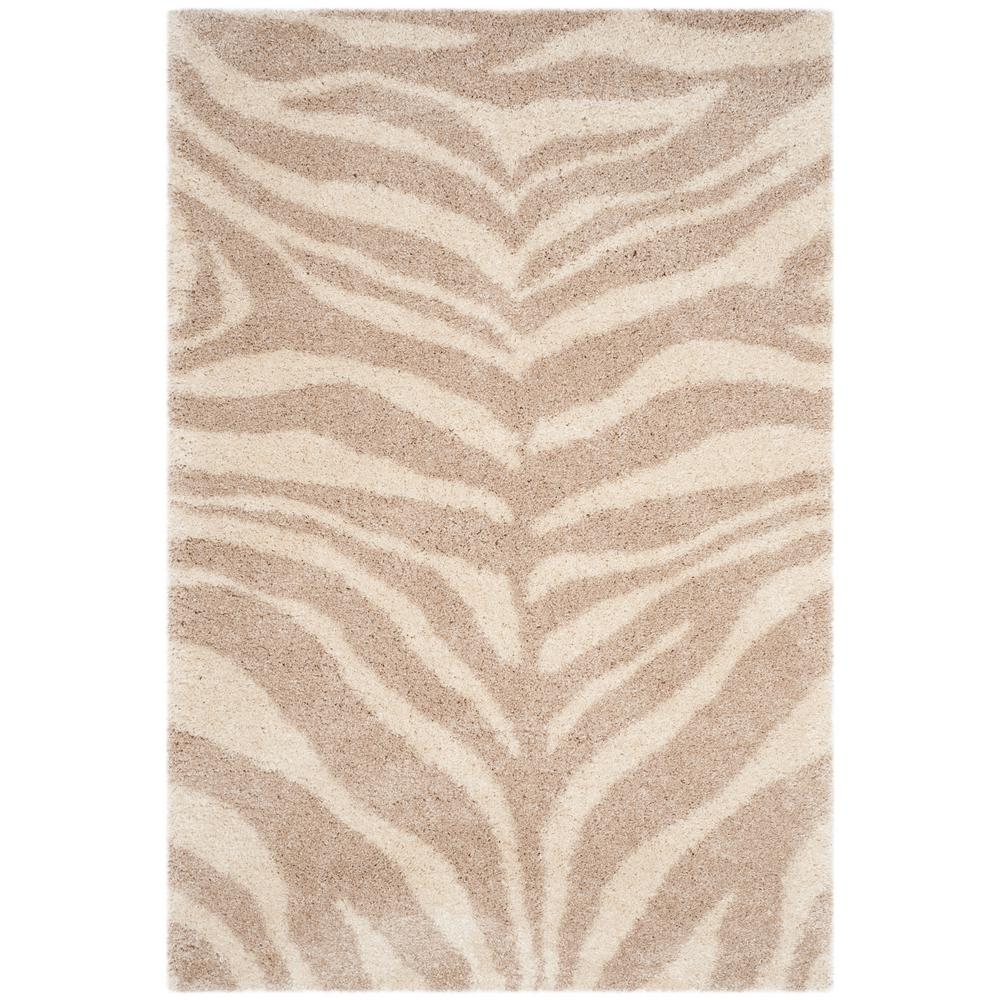 Safavieh Portofino Ivory Beige 5 Ft 1 In X 7 6 Area Rug Pts215b The Home Depot
