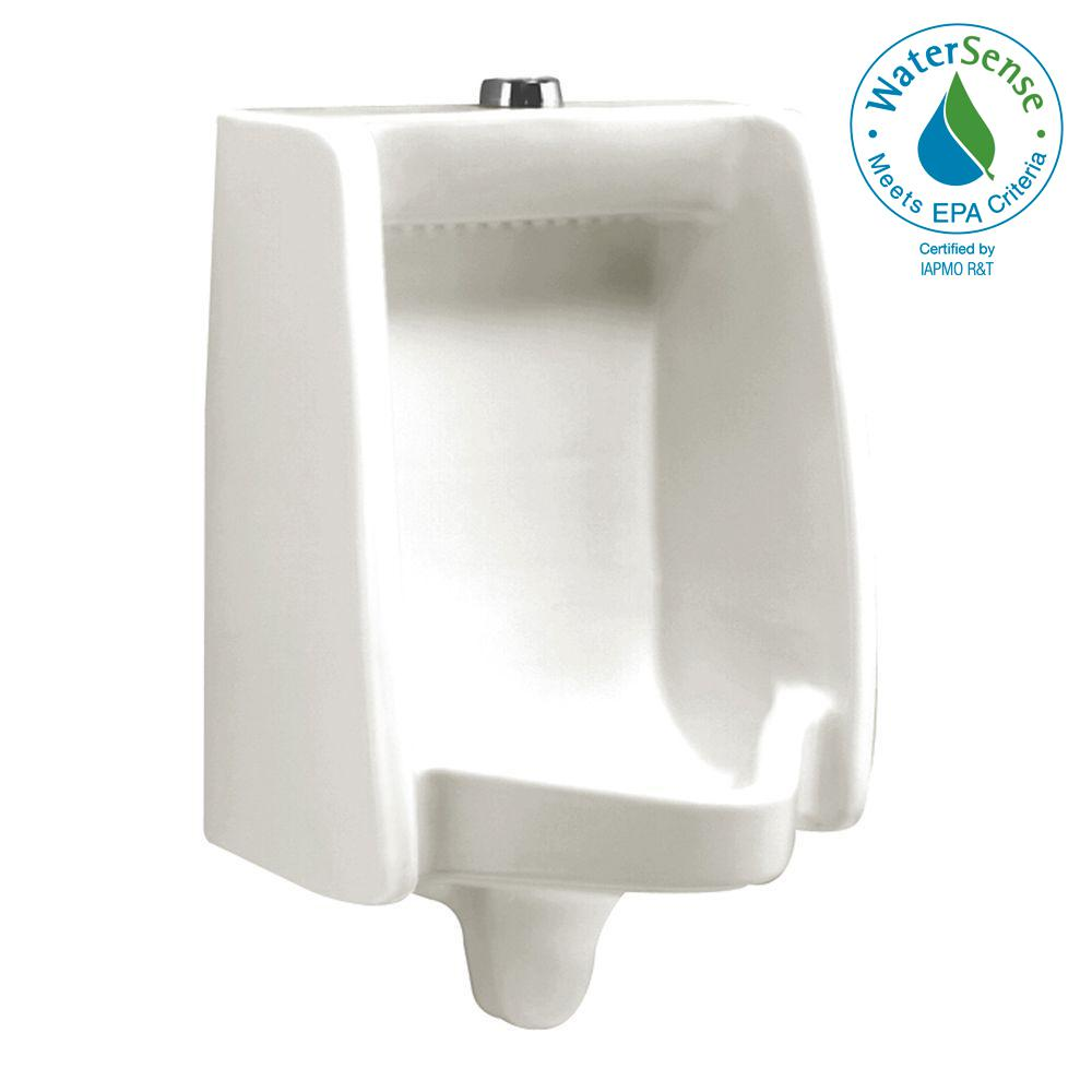 Washbrook FloWise Top Spud 0.125 GPF Urinal in White