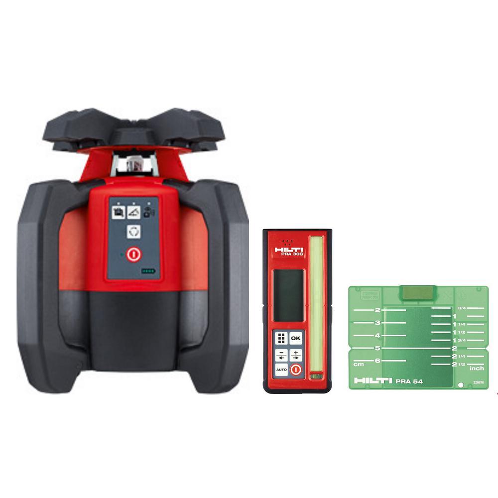 PR-30-HVSG Green Rotating Laser Level, Laser and Receiver Only