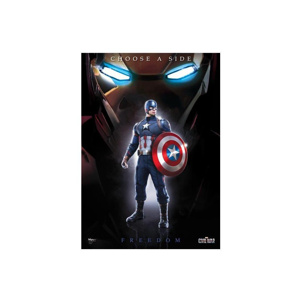 Captain America Civil War Team Cap Mighty Print Next-Generation Poster