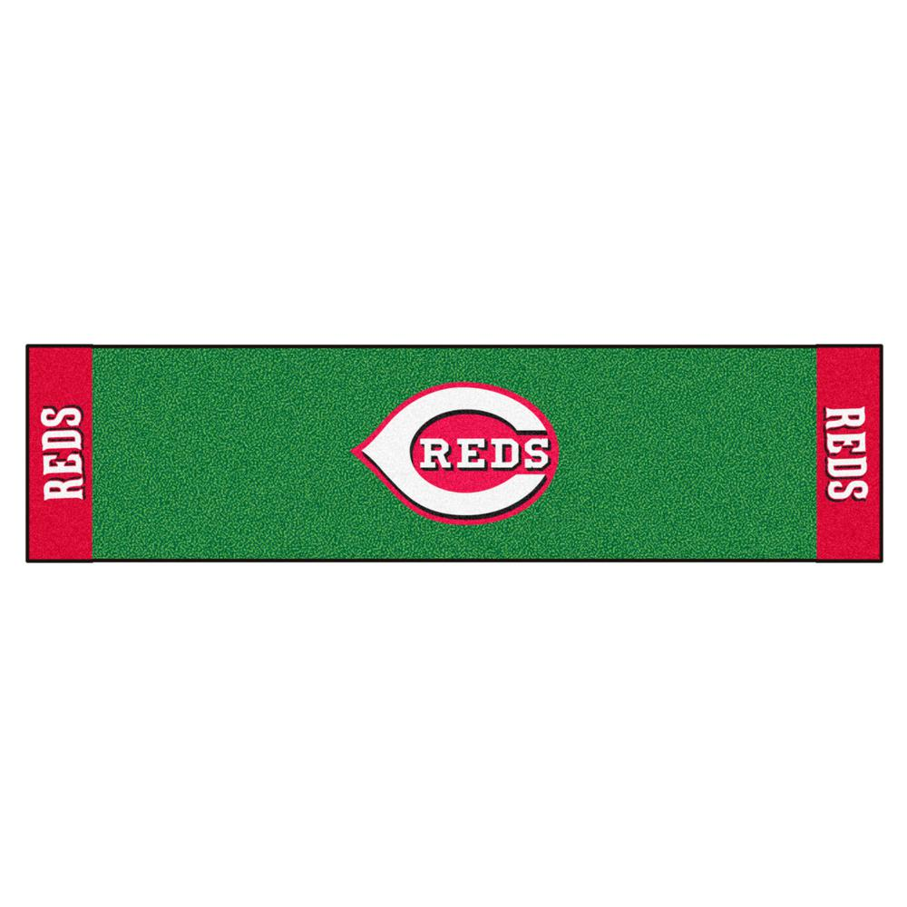 Fanmats Mlb Cincinnati Reds 1 Ft 6 In X 6 Ft Indoor 1