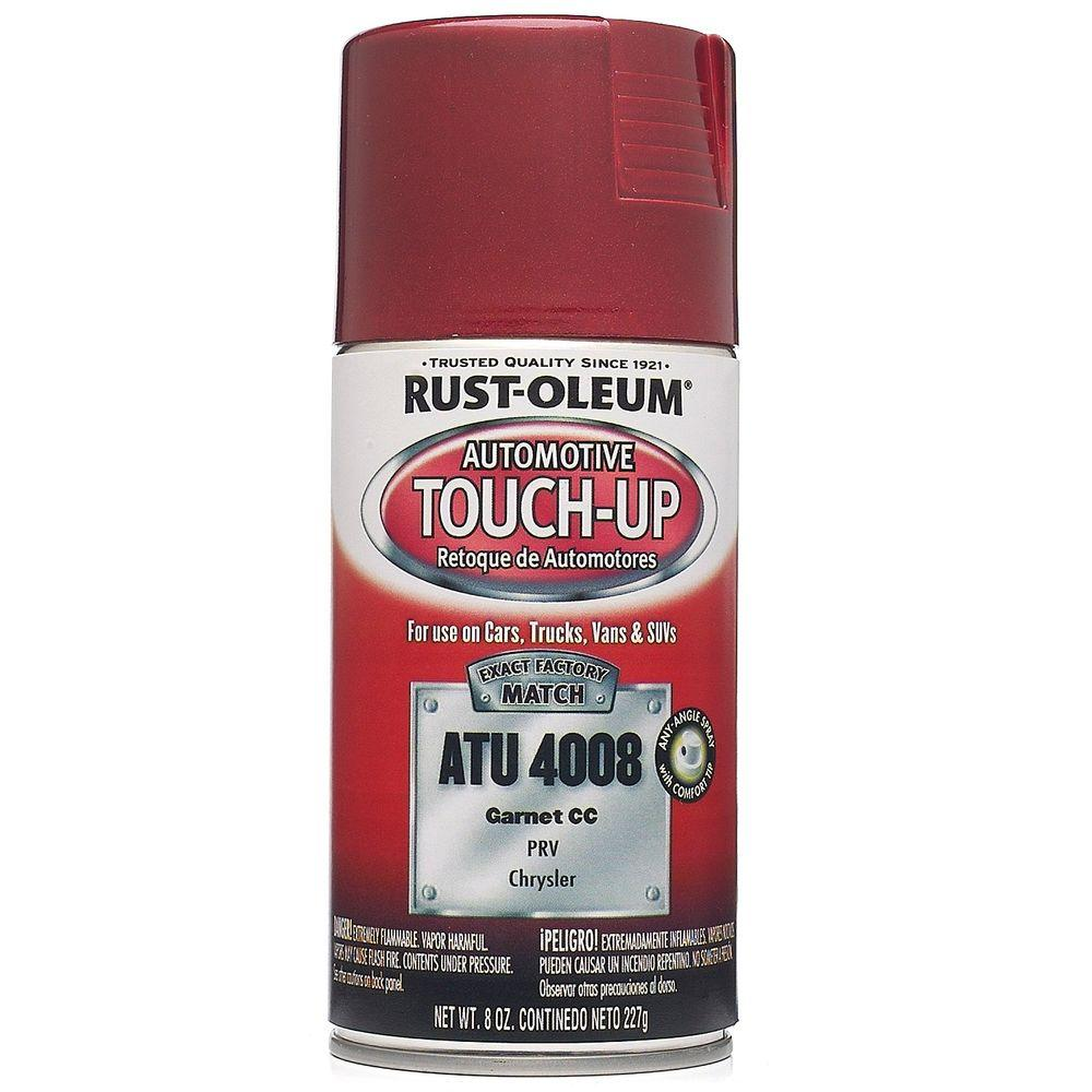 8 oz. Garnet Auto Touch-Up Spray (6-Pack)