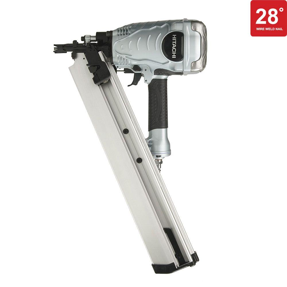 Hitachi 3-1/2 in. Wire Weld 28 Degree Offset Framing Nailer