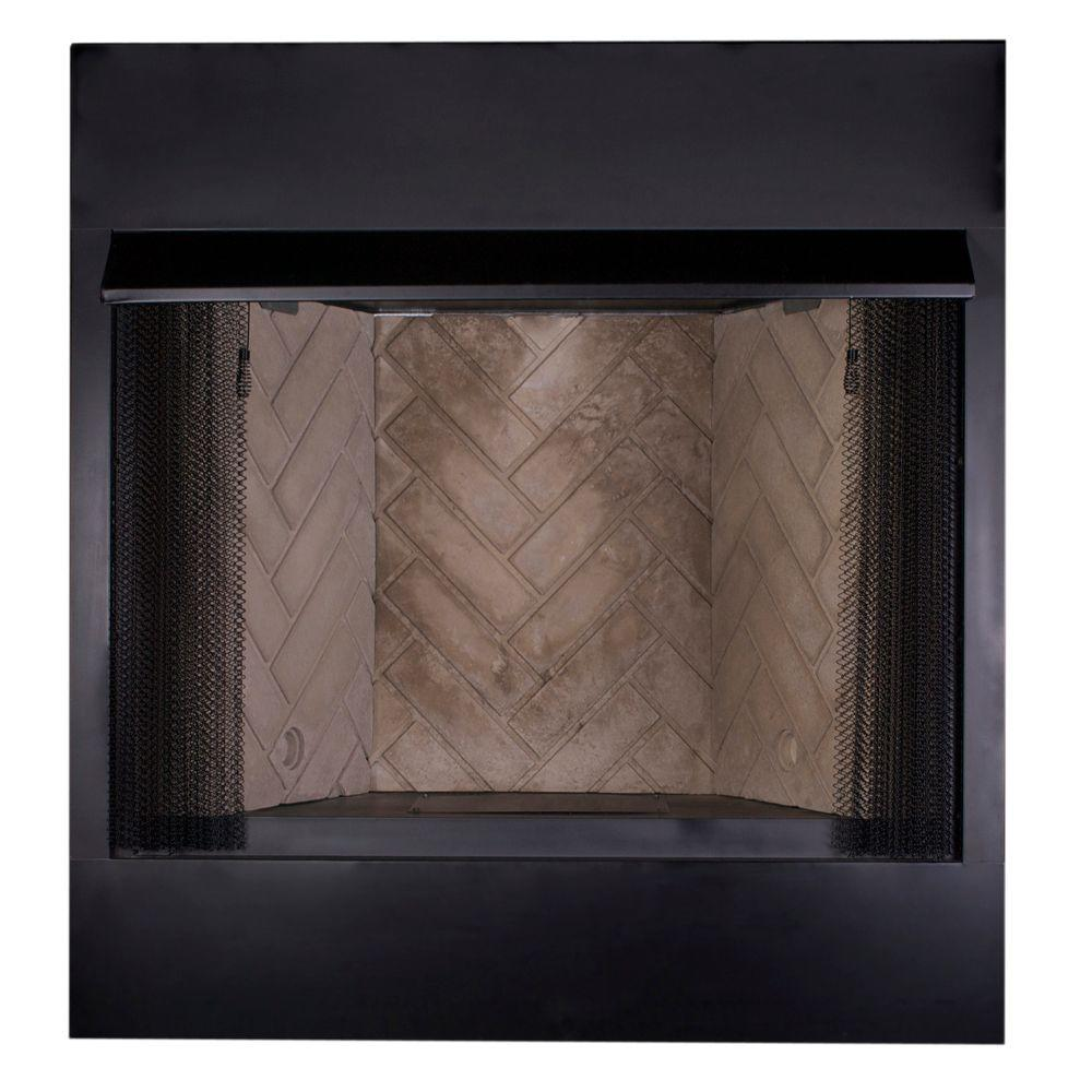 Emberglow 36 in. Vent-Free Firebox Insert-VFB36A - The Home Depot