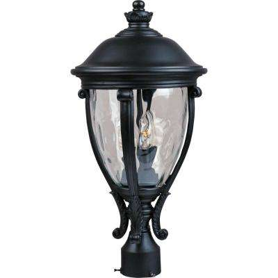 Camden Vivex 3-Light Black Outdoor Pole/Post Mount