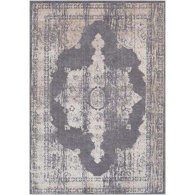 Durant Gray 5 ft. x 8 ft. Area Rug