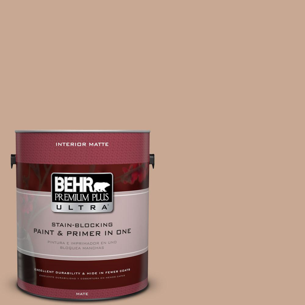 1 gal. #ECC-42-1 Fox Hill Flat/Matte Interior Paint
