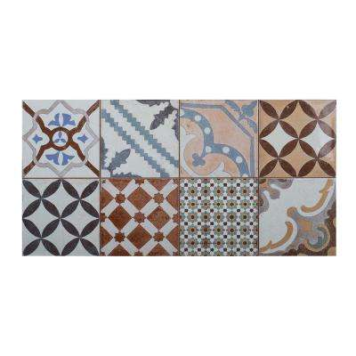 Tangier Charm 12 in. x 24 in. x 10.5 mm Ceramic Wall Tile (11.625 sq. ft. / case)