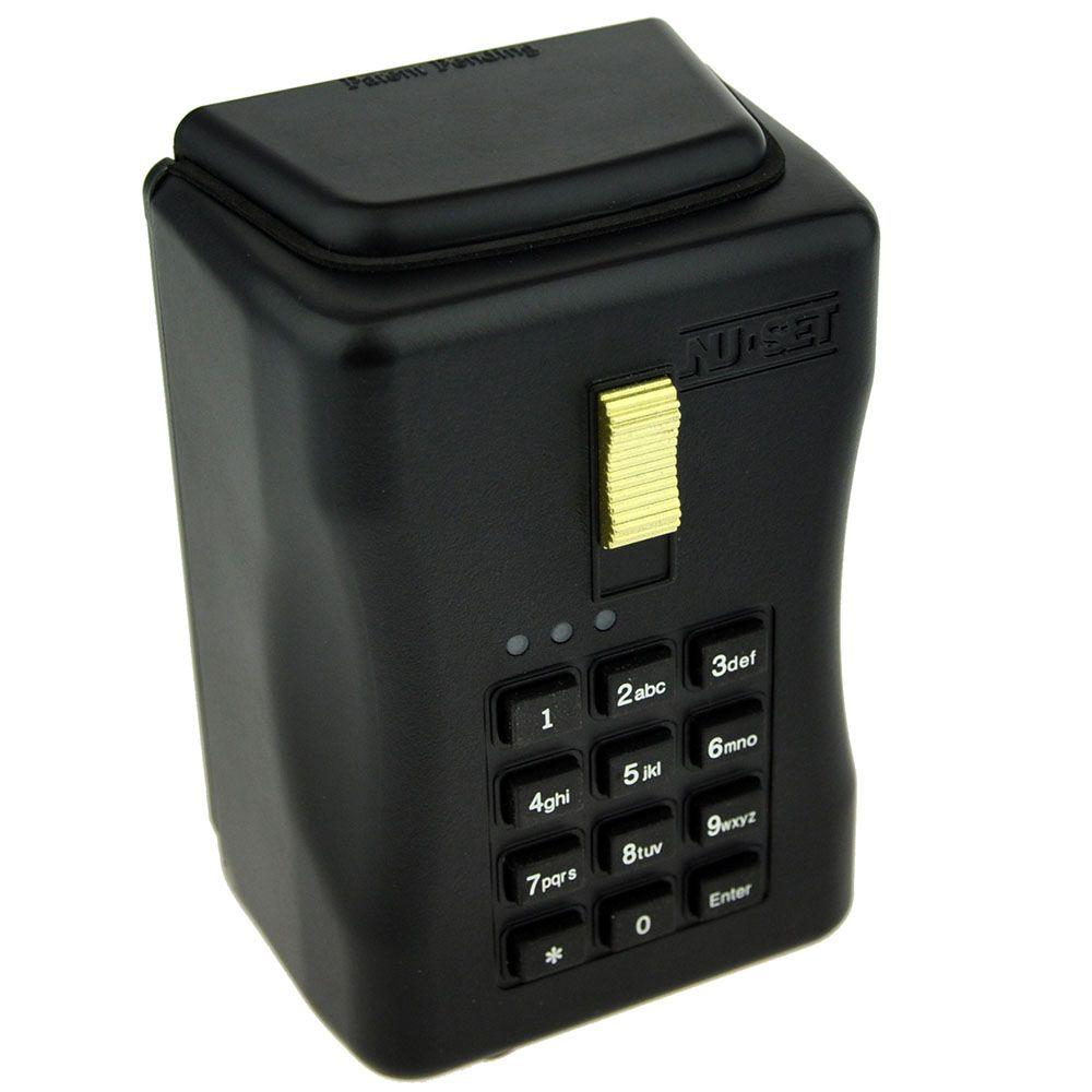 33dd77bd058e NUSET Smart-Box Electronic Lockbox Key Storage Lock Box Wall Mount