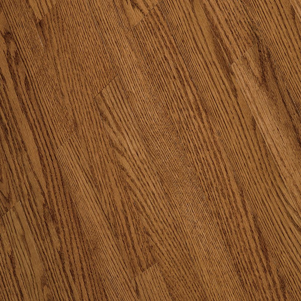 Bruce Bayport Oak Low Gloss Gunstock 3/4 in. Thick x 2-1/4 in. Wide x Varying Length Solid Hardwood Flooring (20 sq. ft./case)