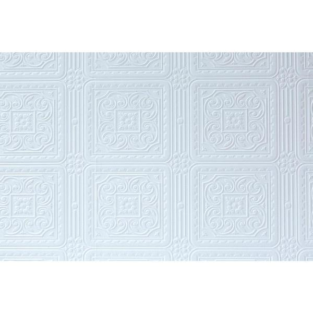 Anaglypta Turner Tile Paintable Textured Vinyl Wallpaper