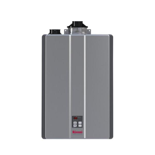 Super High Efficiency Plus 9 GPM Residential 160,000 BTU Natural Gas Interior Tankless Water Heater
