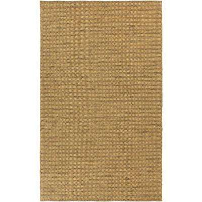 Ravena Gold 5 ft. x 8 ft. Indoor Area Rug