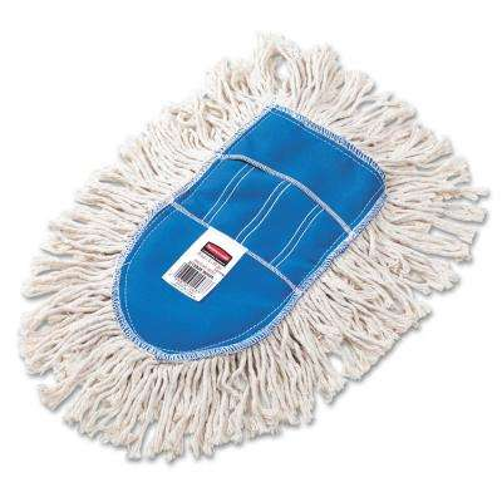 Wedge Mop White Cut-End Dust Head
