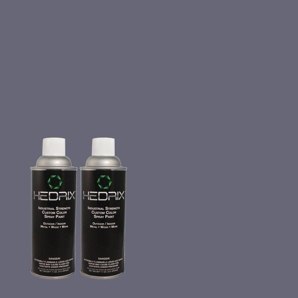 Hedrix 11 oz. Match of 610D-6 Enduring Gloss Custom Spray Paint (2-Pack)