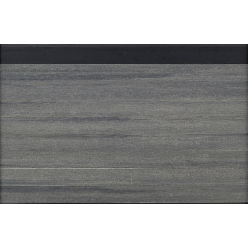 Euro Style Estate 4 ft. H x 6 ft. W Oxford Grey Aluminum/...